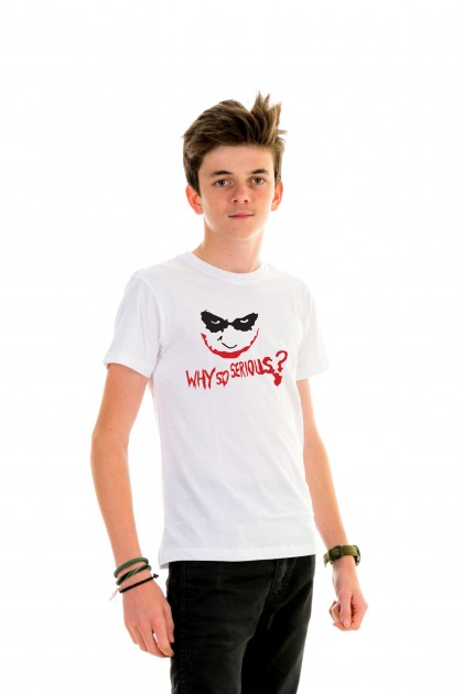 T-shirt Kid Why So Serious?