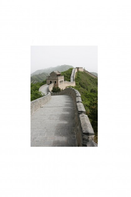 Poster Great Wall of China- By Emmanuel Catteau