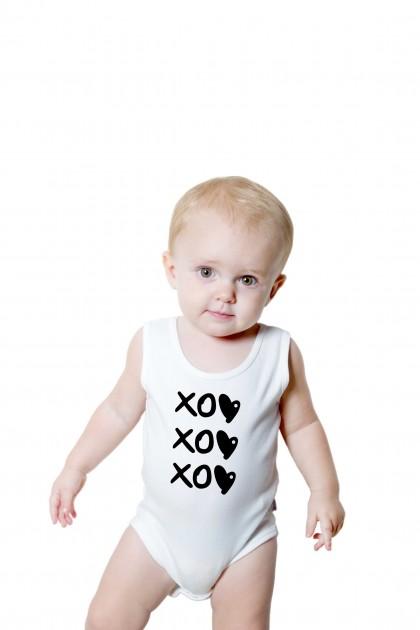 Baby romper XOXOXO