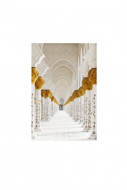 Poster Zayed Mosque - Abu Dhabi By Emmanuel Catteau