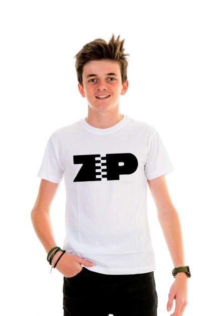 T-shirt kid ZIP