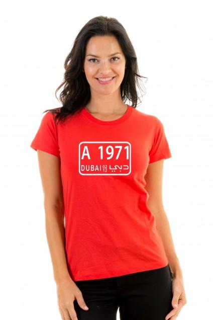 T-shirt Dubaï Plate 1971
