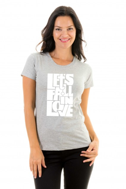 T-shirt Let's fall in love
