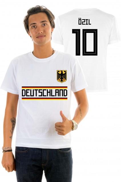 T-shirt World Cup 2018 - Deutchland, Ozïl 10