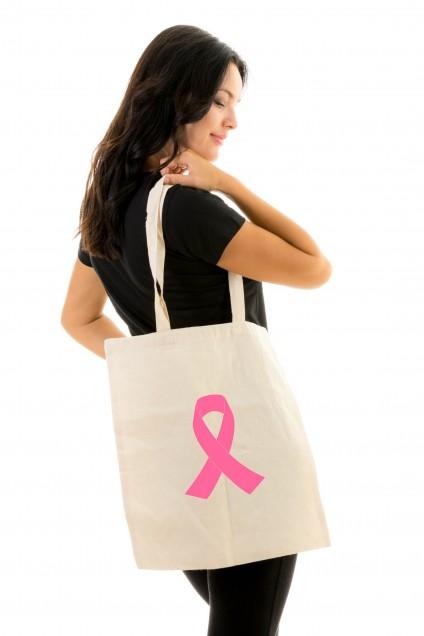 Tote bag Breast Cancer - Pink Ribbon