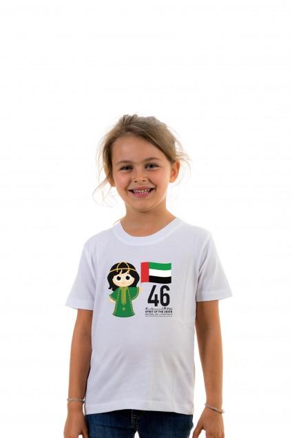 T-shirt Kid Spirit Of The Union 46 - Girl