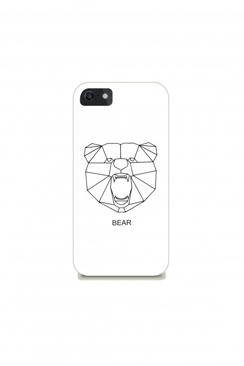 Phone Case Geometric Bear