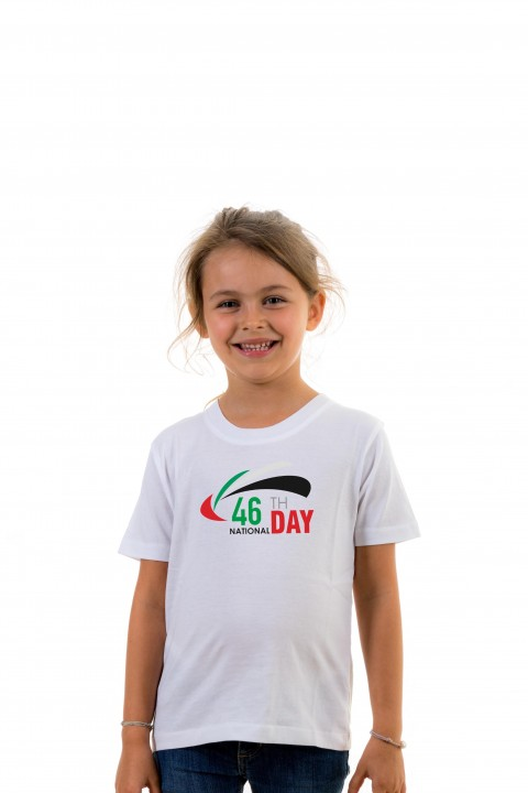 T-shirt Kid 46th National Day