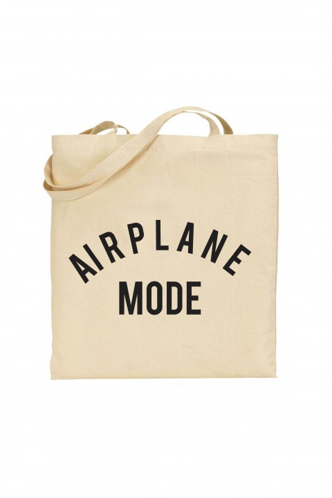 Tote bag Airplane Mode