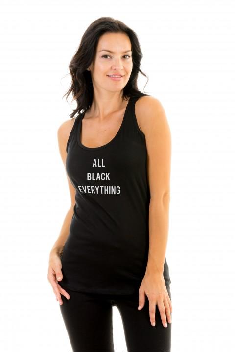 Tanktop ALL BLACK EVERYTHING