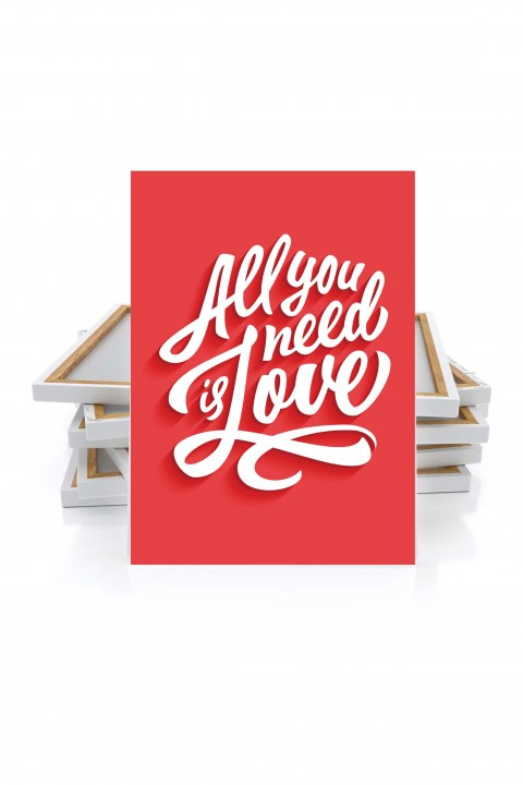 Canvas All You Need is Love