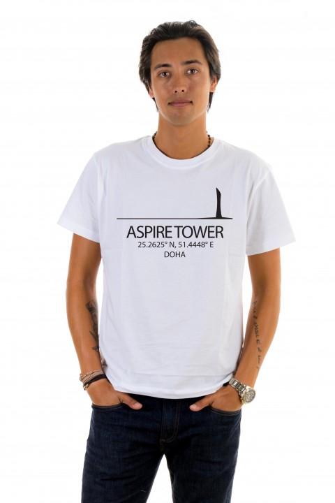 T-shirt Aspire Tower - Doha, Qatar