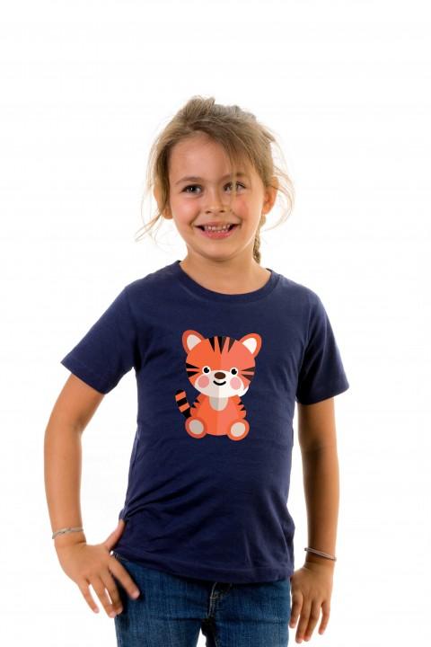 T-shirt kid Baby Tiger