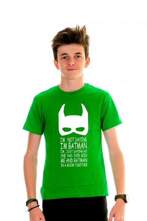 T-shirt kid I'm Batman