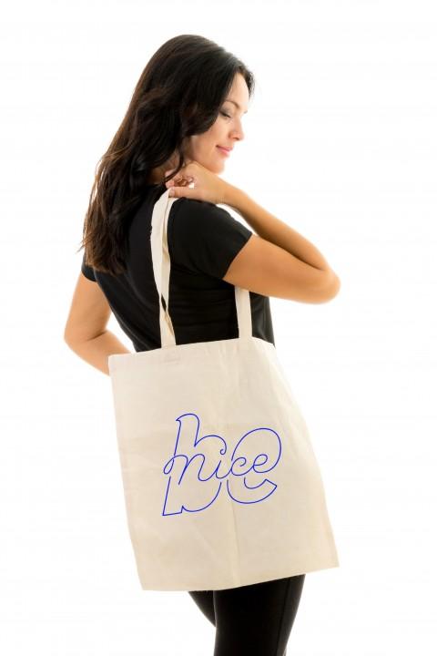 Tote bag Be Nice