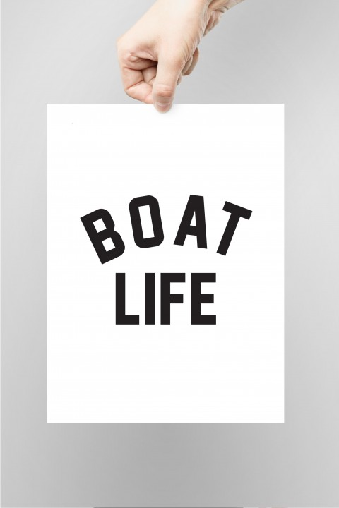 Poster Boat Life