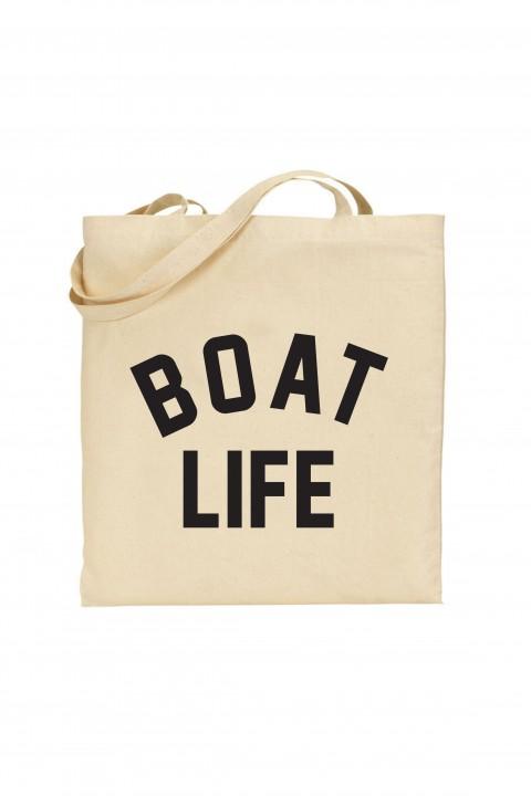 Tote bag Boat Life