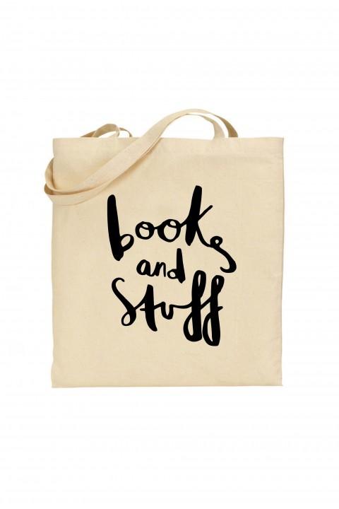 Tote bag Books and stuff