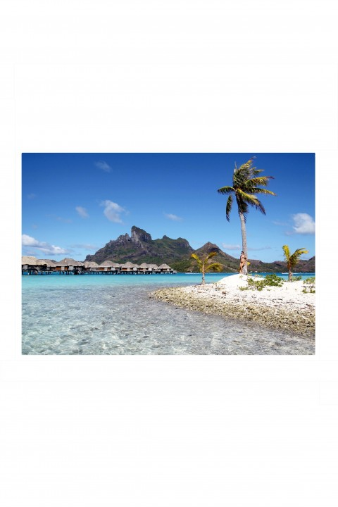 Poster Bora Bora - French Polynesia By Emmanuel Catteau