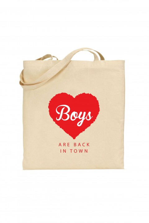 Tote bag Boys Are Back In Town