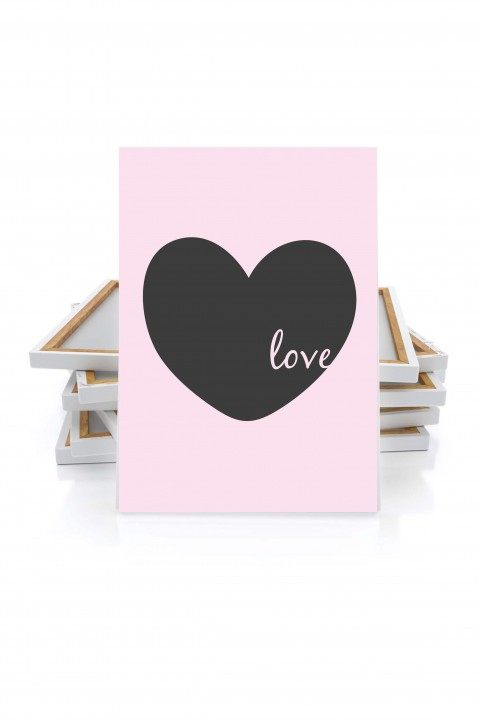 Canvas Love Heart