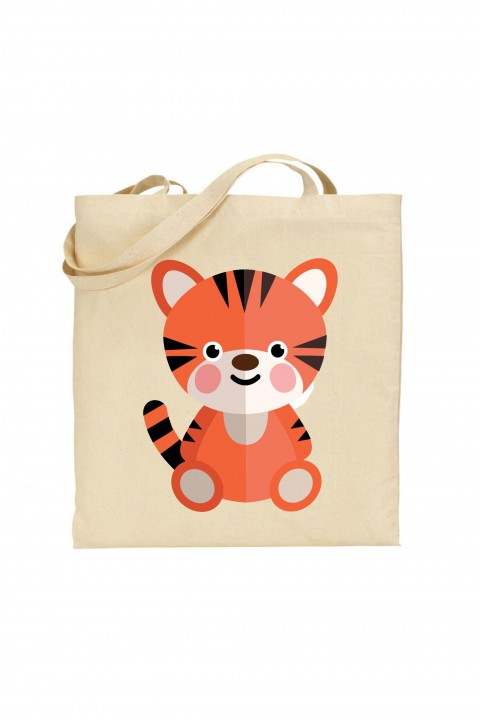 Tote bag Baby Tiger