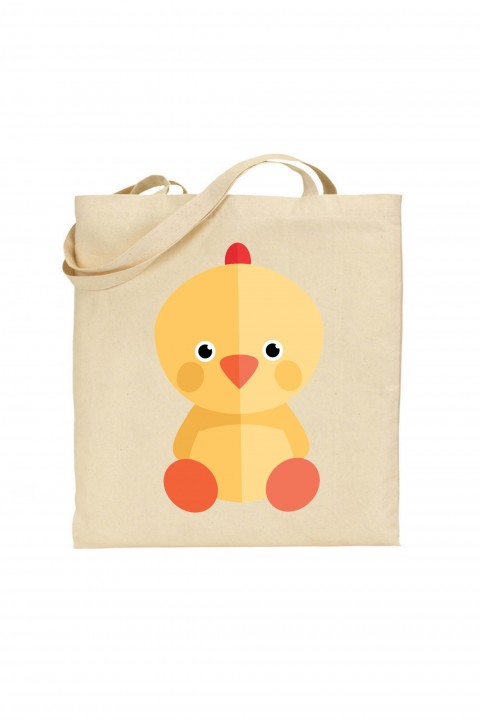 Tote bag Chick