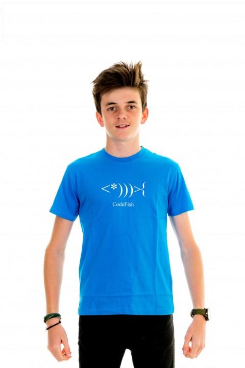 T-shirt Kid Code Fish