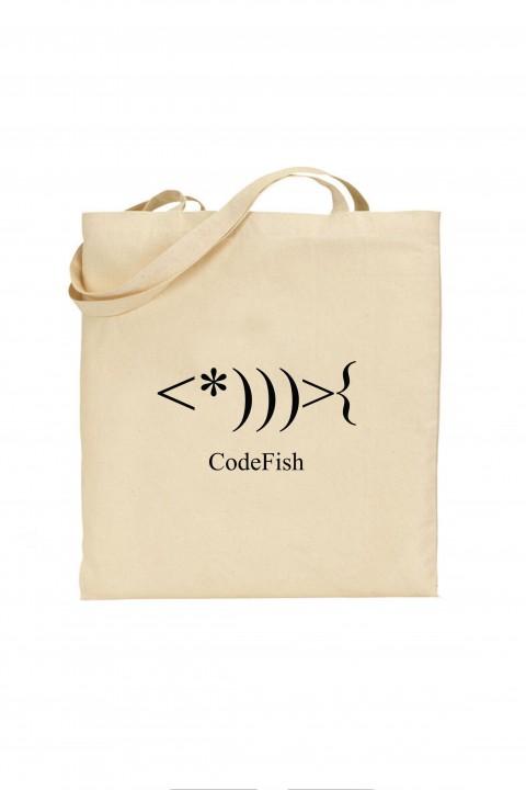 Tote bag Code Fish