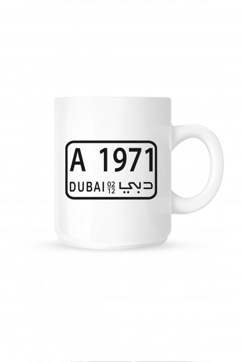 Mug Dubaï Plate 1971