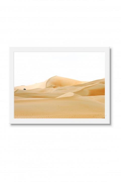 Poster with frame Dubai Desert - UAE By Emmanuel Catteau