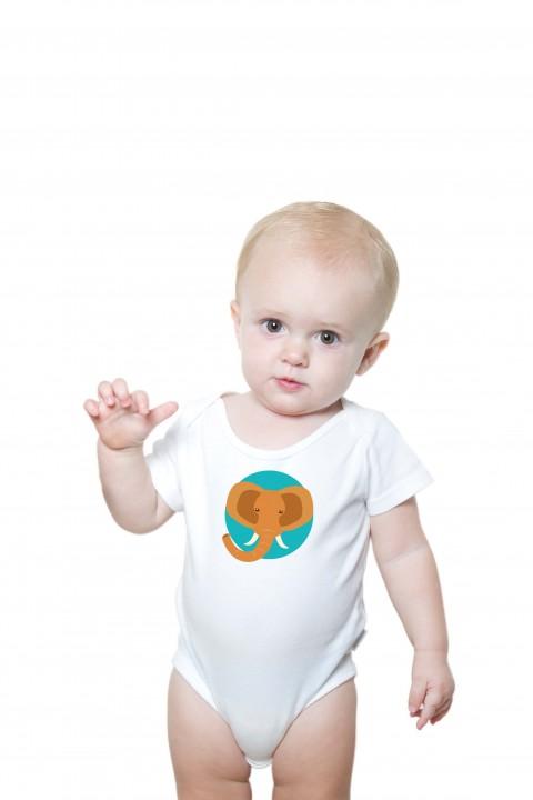 Baby romper Elephant