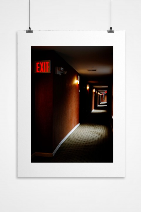 Poster EXIT By Emmanuel Catteau