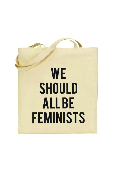 Tote bag We Should All Be Feminists