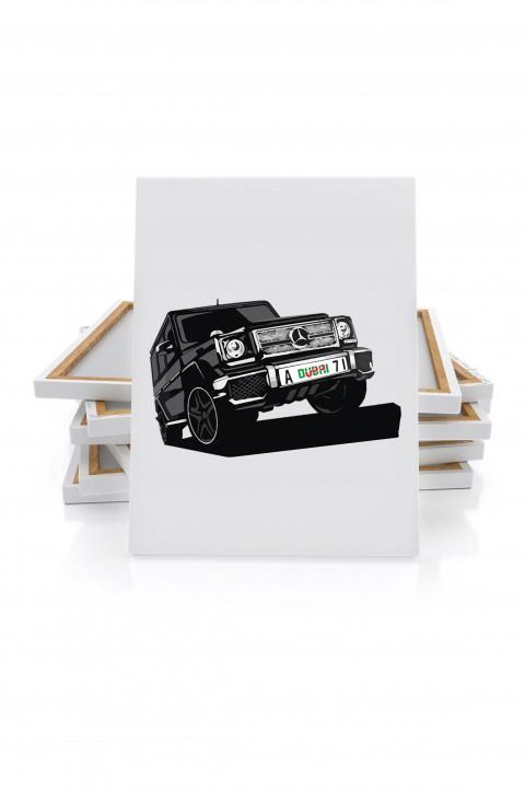 Canvas Mercedes G Class Dubaï