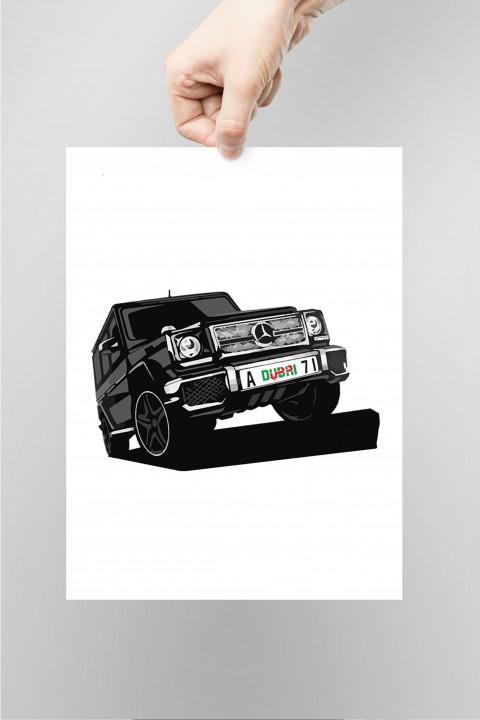 Poster Mercedes G Class Dubaï