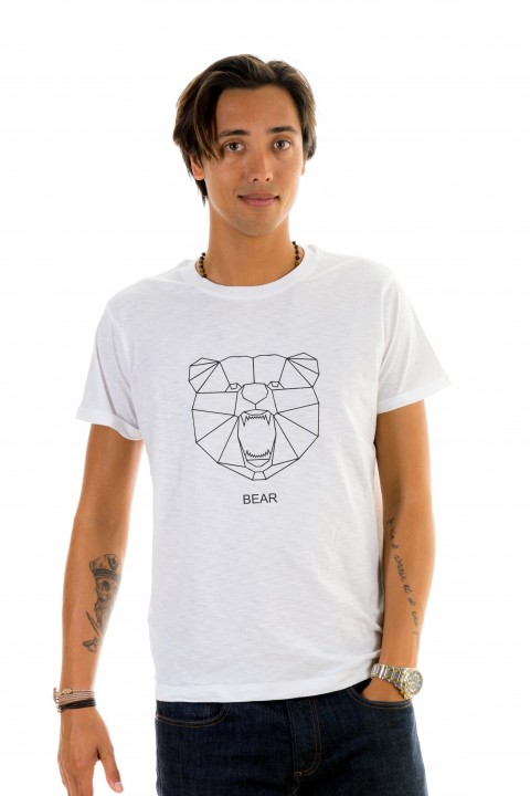 T-shirt Geometric Bear