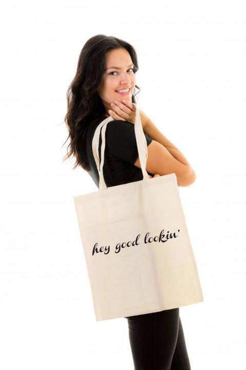 Tote bag Hey Good Lookin'