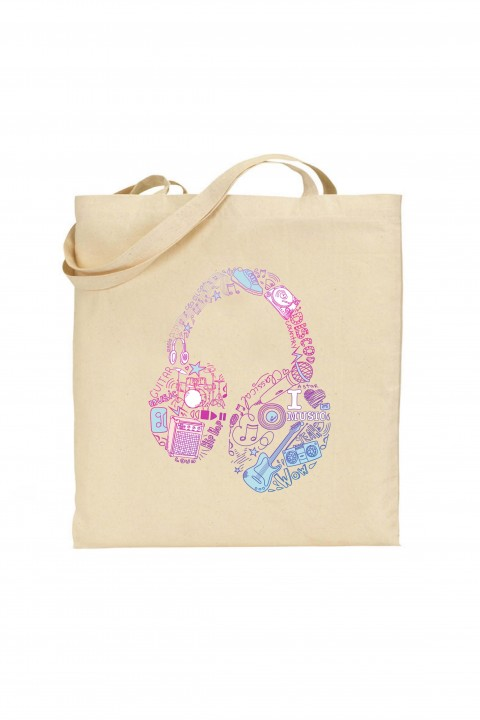 Tote bag Headphone