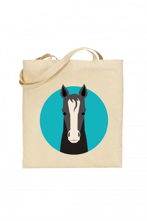 Tote bag Horse