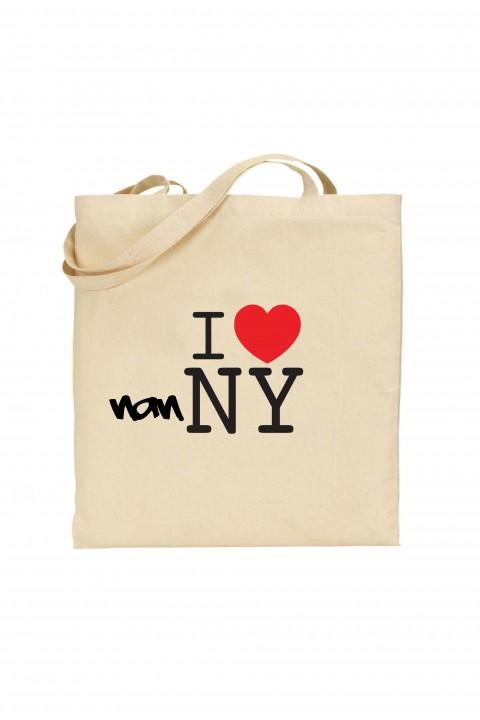 Tote bag I Love Nanny