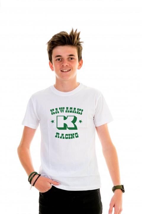T-shirt Kid Kawasaki Racing