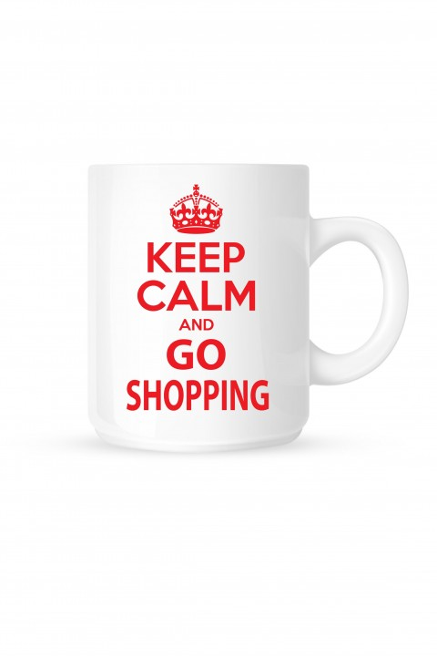 Mug Keep calm and go shopping