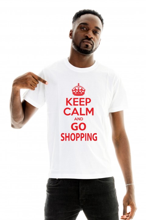 T-shirt Keep calm and go shopping