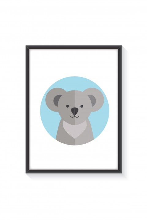 Poster with frame Koala