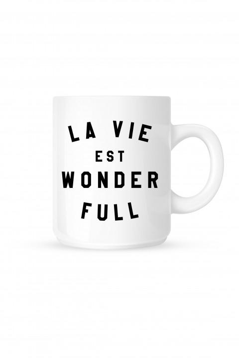 Mug La Vie Est Wonderfull