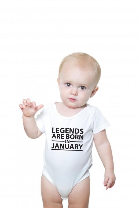 Baby romper Legends Are Born