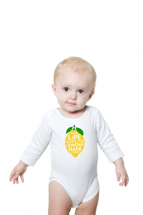 Baby romper Lemon Lemonade
