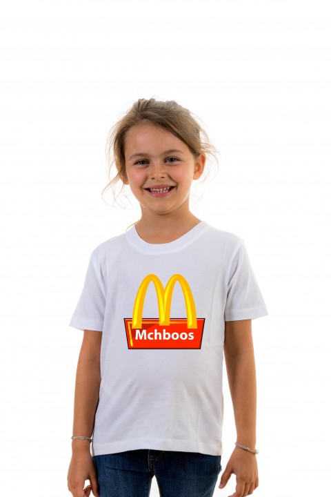 T-shirt Kid Mchboos