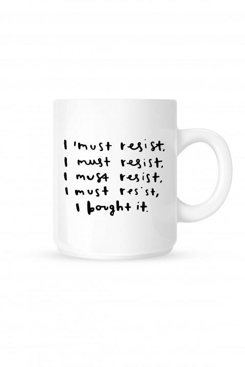 Mug I must resist